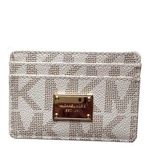 Michael Kors Bags - Michael Kors vanilla jetset card case